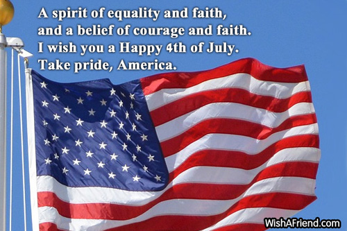 happy 4th of July message pictures
