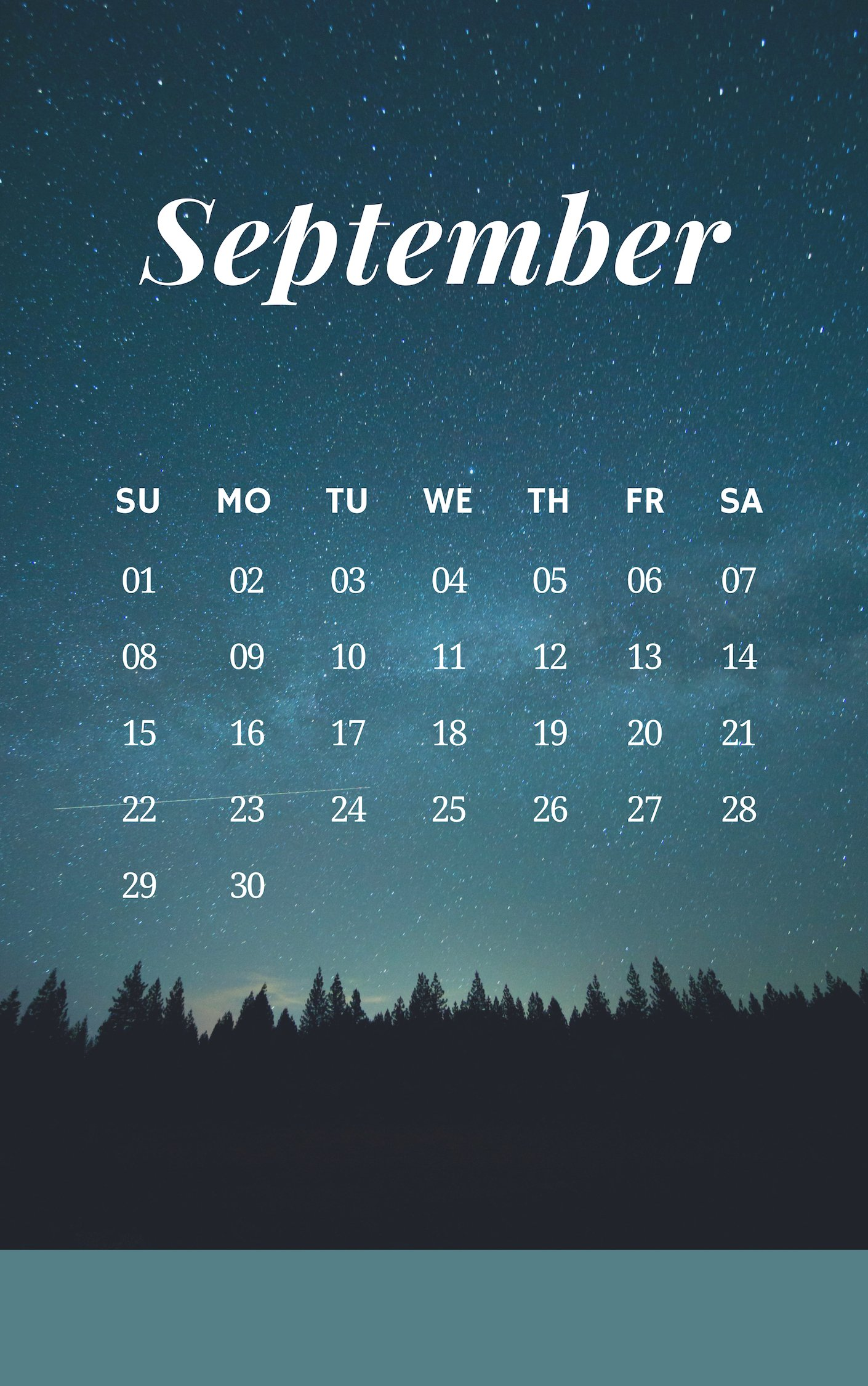 September 2019 iPhone Nature Wallpaper