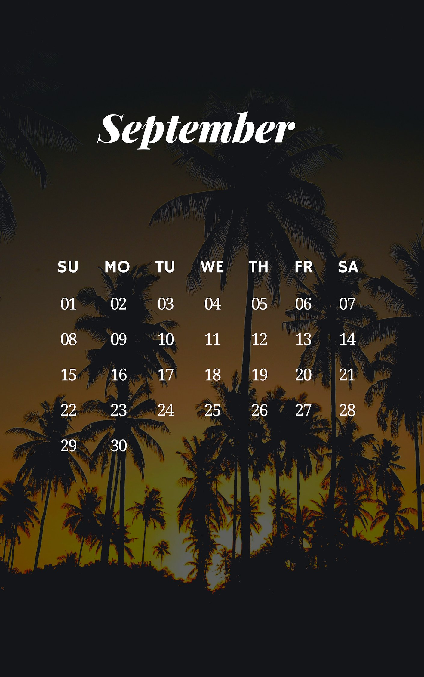 September 2019 iPhone Sunrise Wallpaper