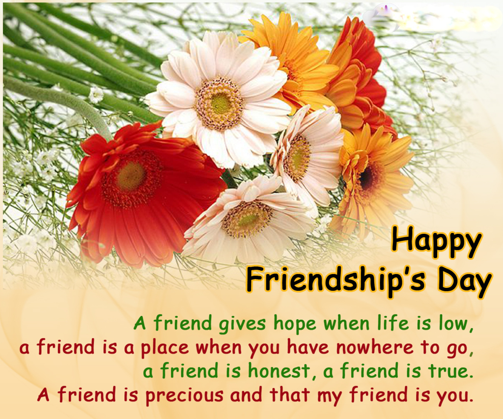 Friendship Day Greeting Cards Messages