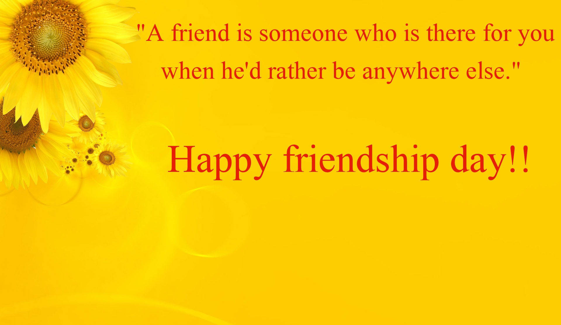 Friendship Day Message and Inspirational Quote