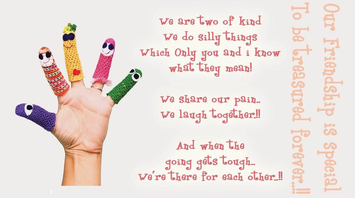 Friendship Day Poem Cute Images