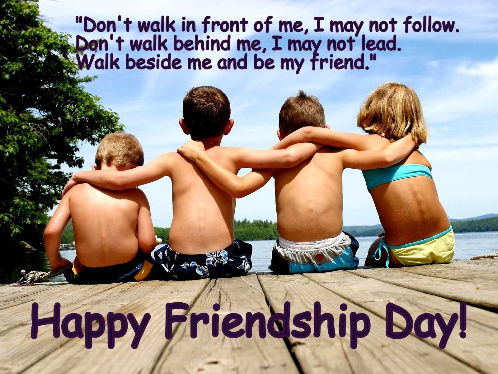 Friendship Day Quotes Beach Images