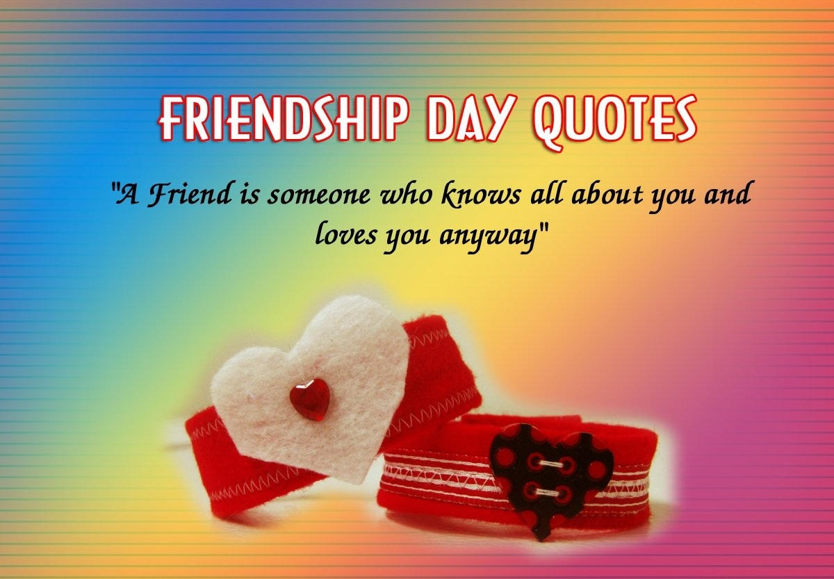 Friendship Day Quotes Free Images