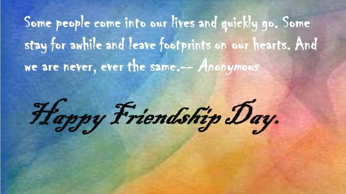 Friendship Day Wishes Quotes Greetings Cards