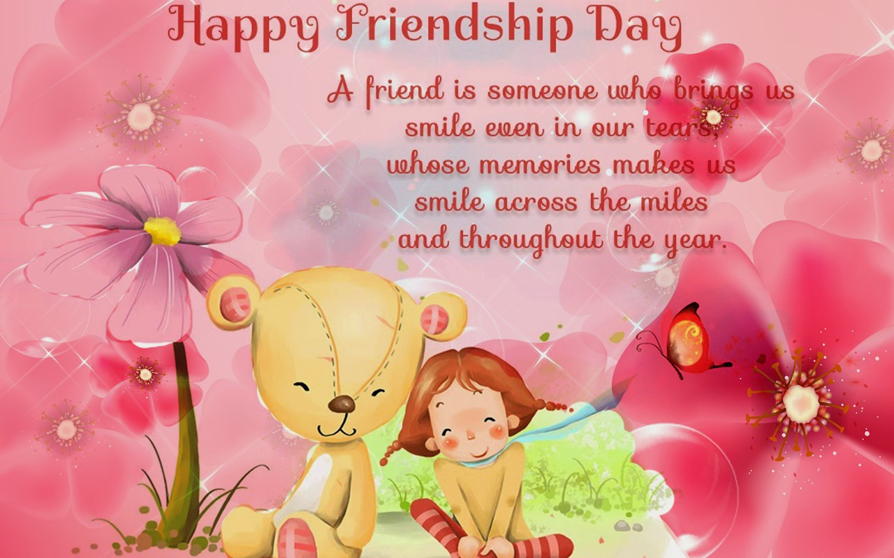 Happy Friendship Day Greeting Free Download