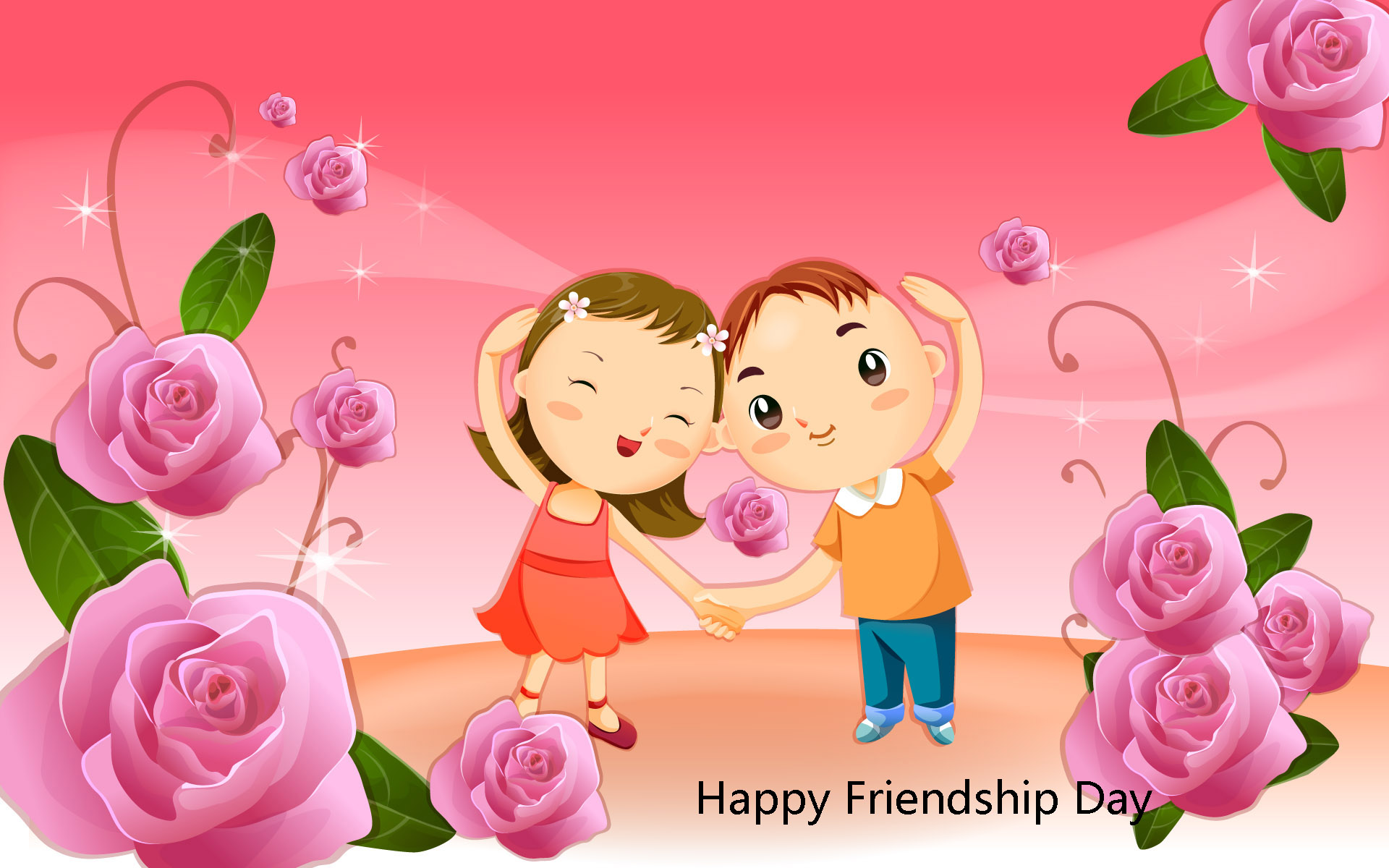 Happy Friendship Day Greeting Free Images