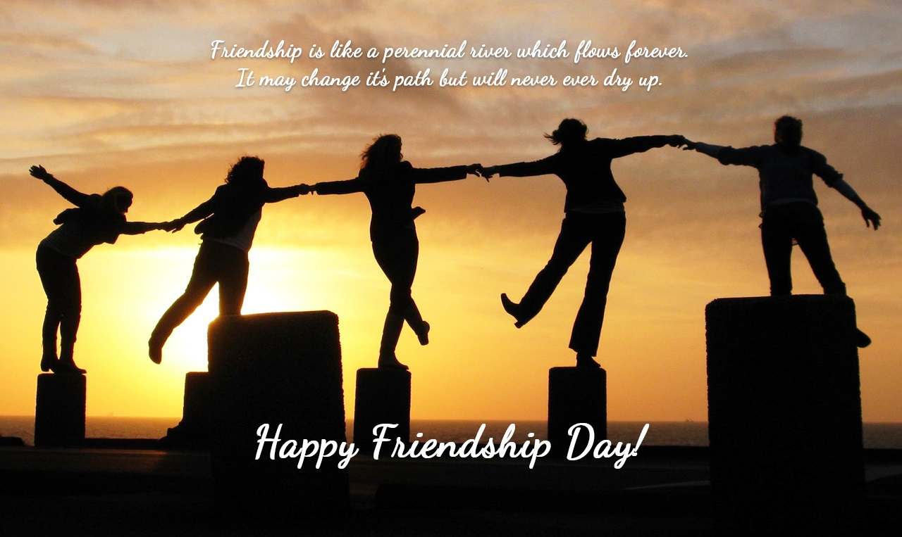 Happy Friendship Day Message HD Images