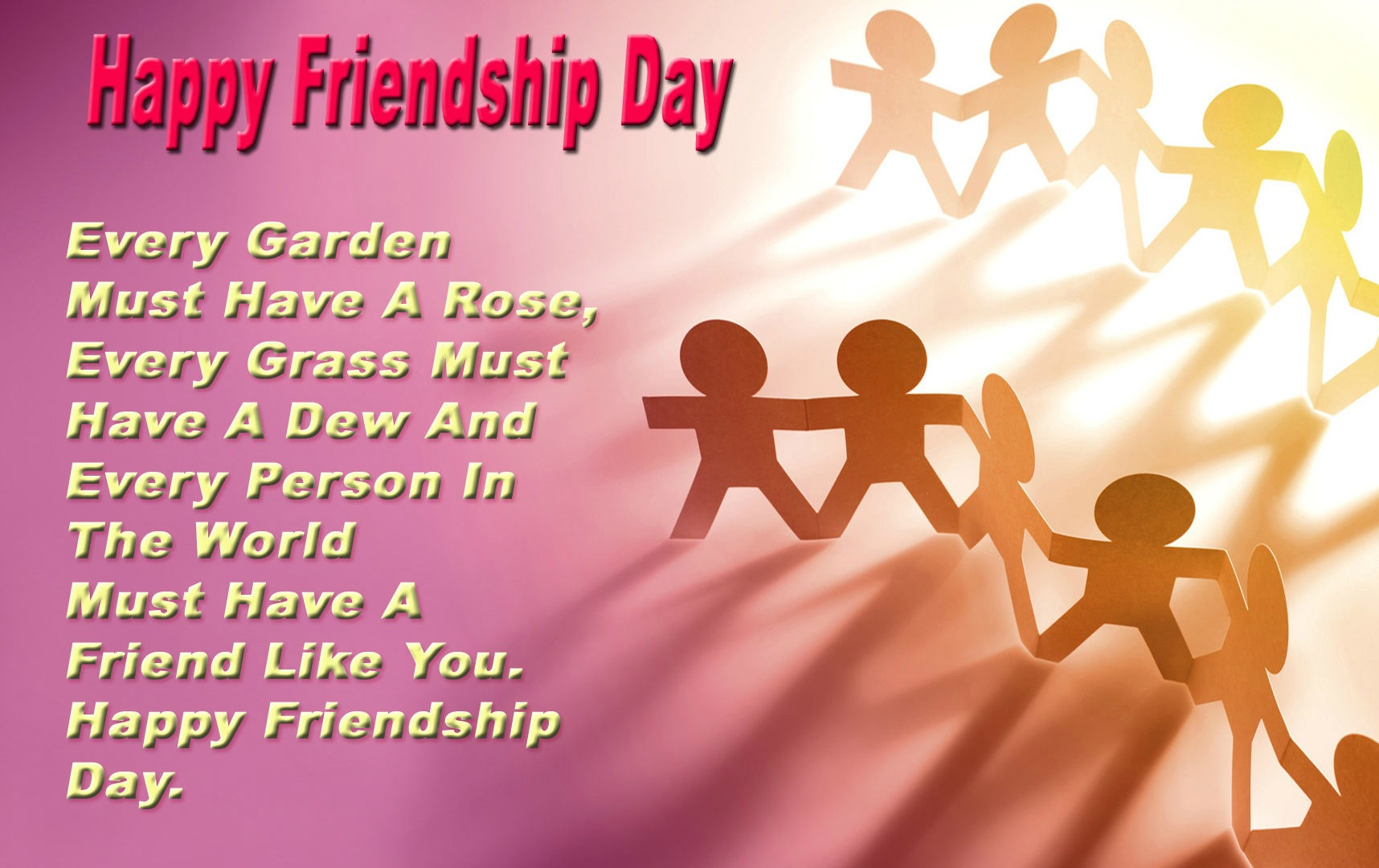 Happy Friendship Day Quotes For Friends
