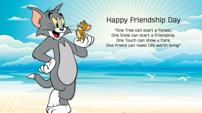 Happy Friendship Day Status Funny Tom and Jerry
