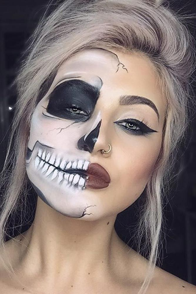 Devil Halloween Makeup Ideas