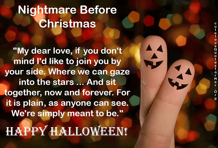 Halloween Love Messages