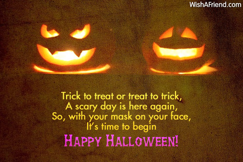 Halloween Messages For Friends