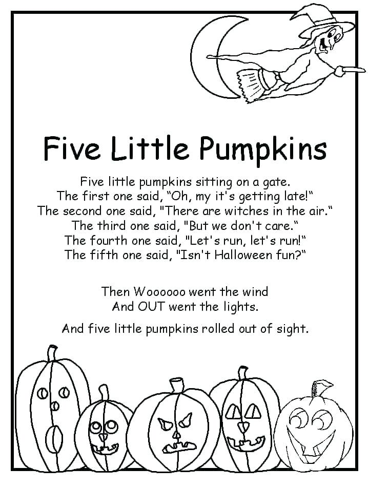 Happy Halloween Short Poems for Kids