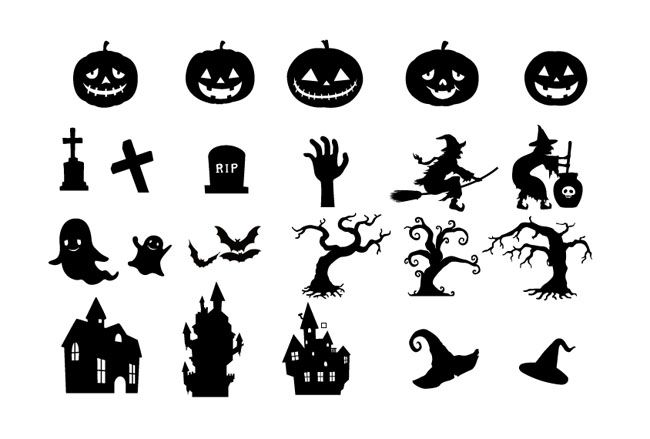 halloween vector images