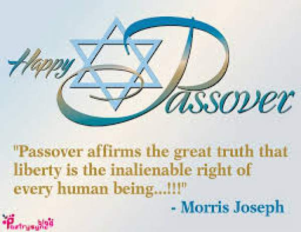 Happy Passover Quotes